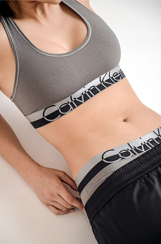 Blogger Alyssa Lau wears the Magnetic Force bralette + panty from Calvin Klein Underwear. #mycalvins