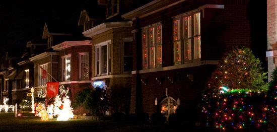 Christmas Light Bungalows