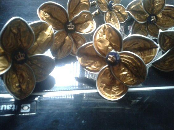Reciclando cápsulas de café nespresso — By Sandra Dias.Interiores