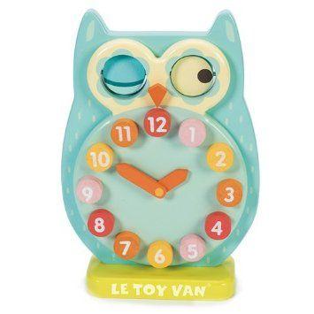 Le Toy Van : Eule Lernuhr