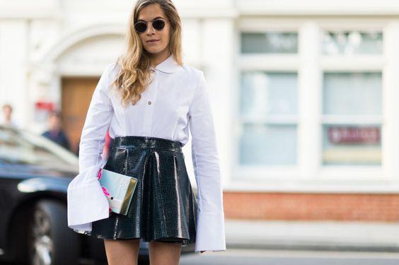 Os looks de street style das semanas de moda | SS/16