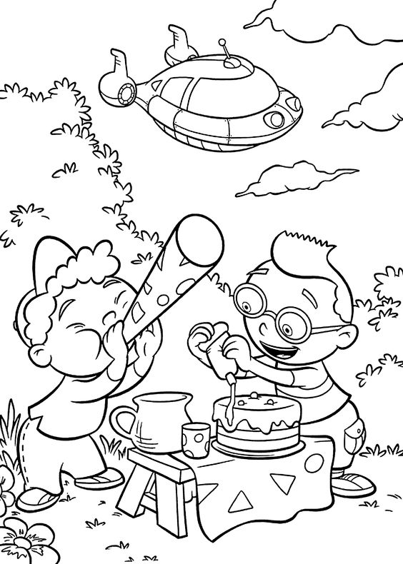 einstines coloring pages - photo#24