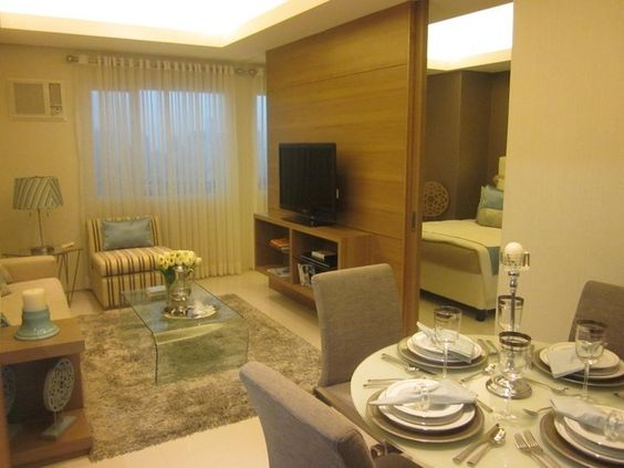Smdc jazz residences makati two bed room unit living room for Jazz living room ideas