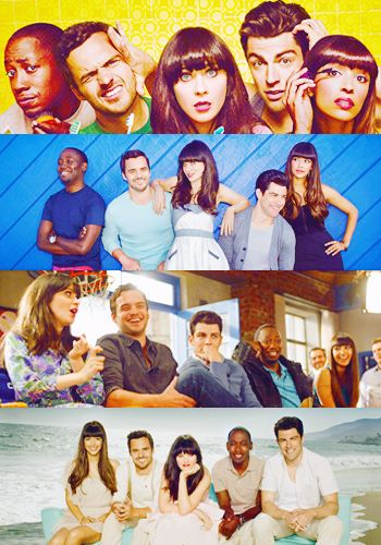 New Girl Casts: Zooey, Max, Jake, Lamorne & Hannah: