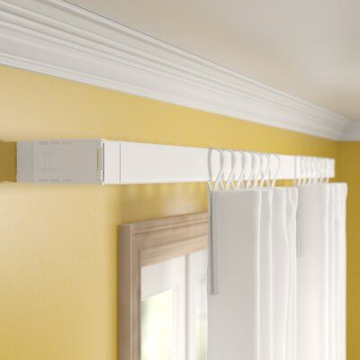 Zipcode Design Shanell Wide Pocket Single Curtain Rod And Hardware Set Curtain Rods Curtains Double Rod Curtains