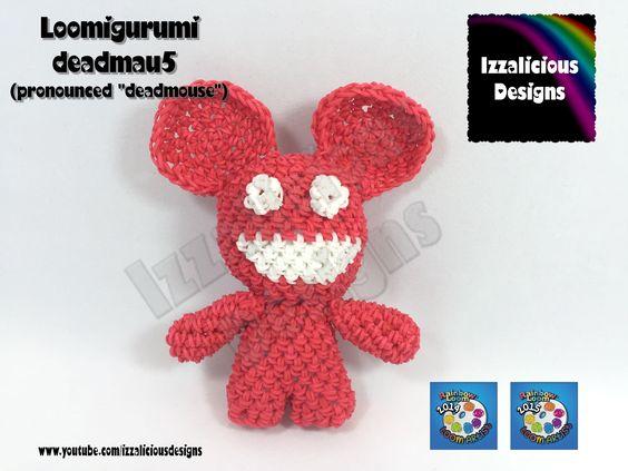 Loomigurumi Deadmau5 (Deadmouse) Tiny Tot Figure - hook only - amigurumi...