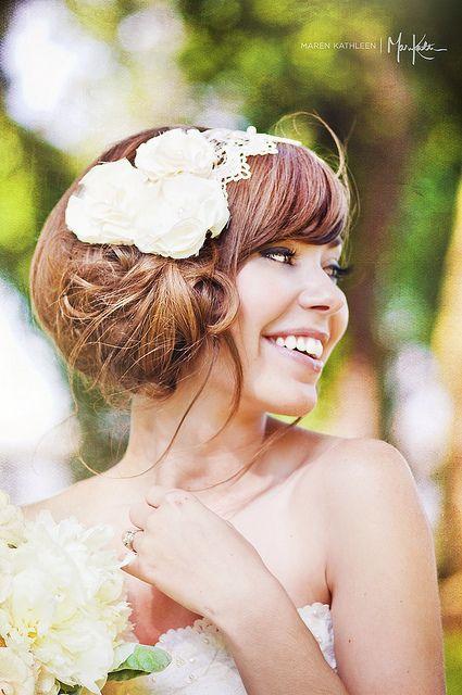 #bride #portrait #headband #vintage by maren kathleen photography @laura wilson yianitsas