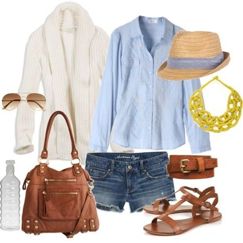 i want to take this entire outfit to the beach.: Sweater, Casual Summer, Summer Style, Dream Closet, Spring Summer, Summer Outfits, Summer Nights, Spring Outfit, Longer Shorts
