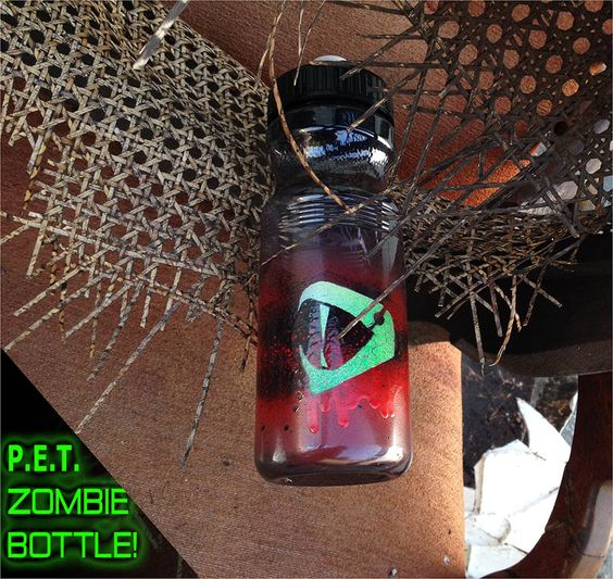P.E.T. Zombie Bottle!  Adopt me!  Resurrect after each use, and ban single-use bottles.