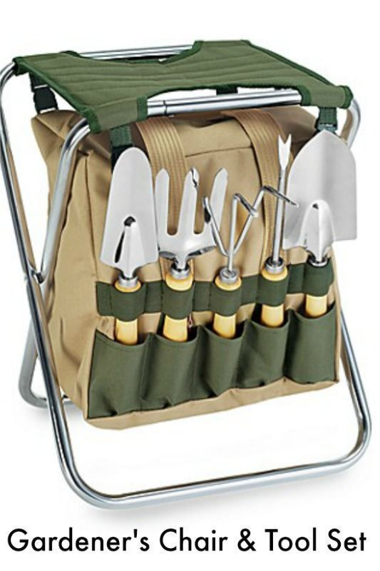 4c574b3a219503151f0c826423d88bc7 - Picnictime Gardener Chair And Tools Set