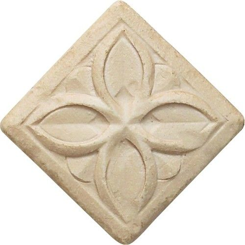 Stone Decorative Tiles Gorgeous Cast Stone Decoratives  Sand Dorset Clover Dot 2X2  Cast Stone 2018