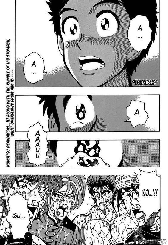 Toriko Chapter 318 read it first at mymanga.net #manga #anime #toriko