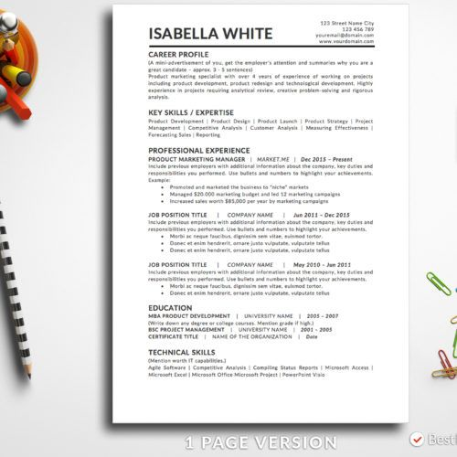 Business Resume Template Poppy Anderson Bestresumes Info Simple Resume Template Business Resume Template Resume Template