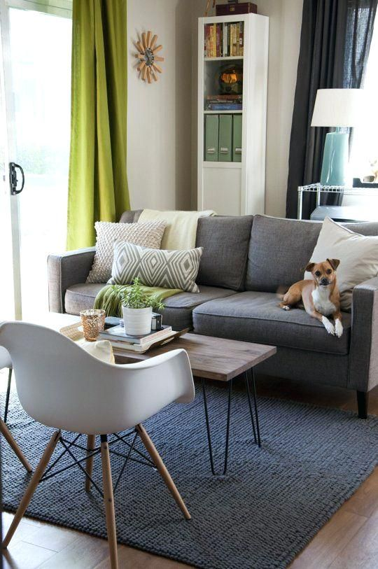 What Colour Curtains With Grey Sofa Grey Sofa Living Room Gray