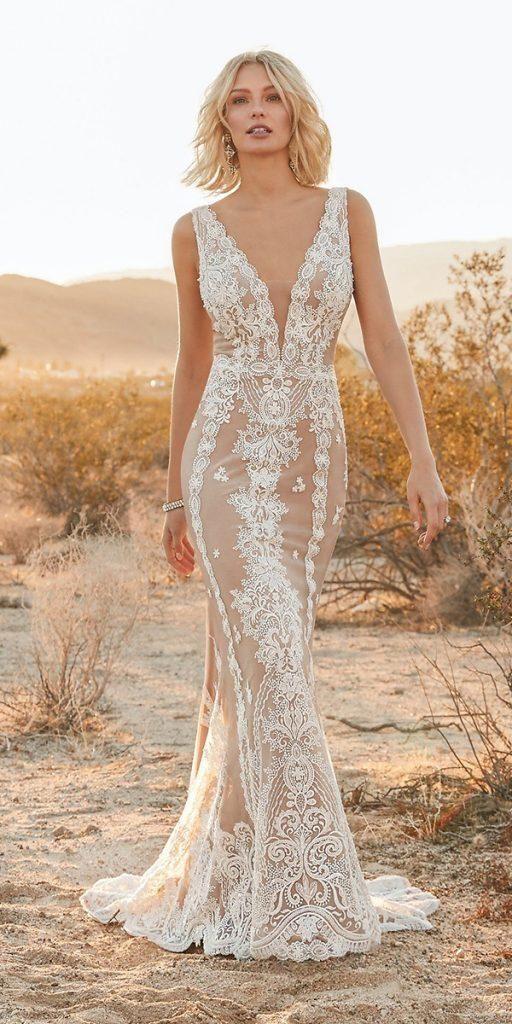21 Fantastic Lace Beach Wedding Dresses Wedding Dresses Guide Lace Beach Wedding Dress Bridal Dresses Online Pakistani Bridal Dresses Online