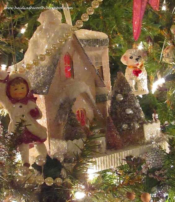 Does Lowes Sell Christmas Trees: Pink Glitter House, Bethany Lowe Christmas Tree Ornaments