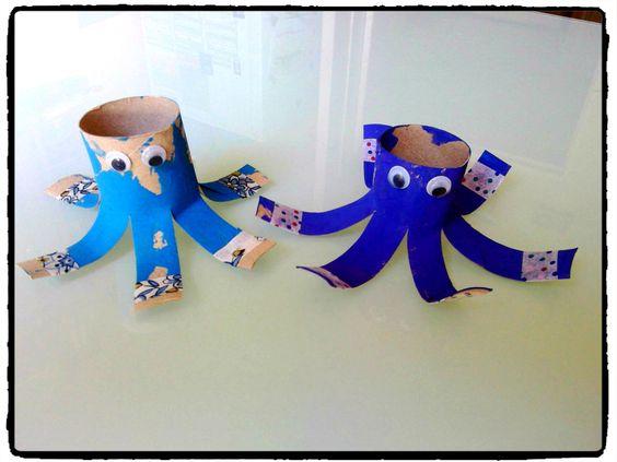 Bricolage animaux and bricolage on pinterest - Bricolage rouleau papier toilette animaux ...