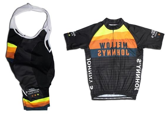 NEW 2016 mellow johnnys bike shop SHORT SLEEVE CYCLING JERSEY and bib shorts  breathable cycling wear Ropa Ciclismo Bicycle kits-in Cycling Sets from  Sports ... 9d3651fbd