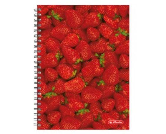 Cuaderno Herlitz 5 uds cuaderno Fresas, 70 hojas
