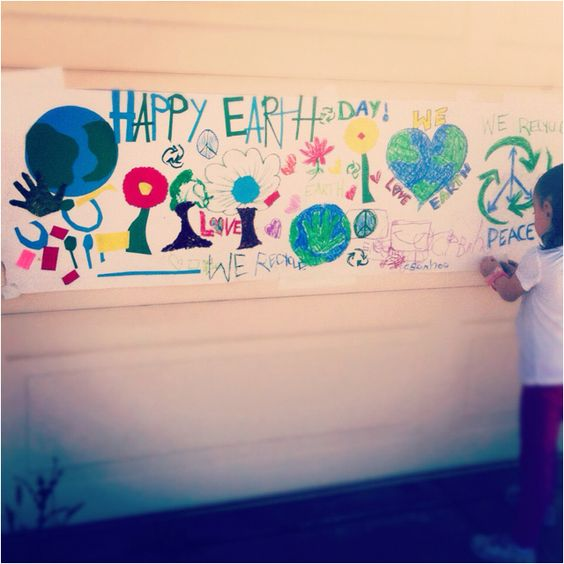 Earth day project with my daughter :)
