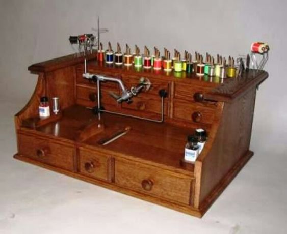 Fly Tying Bench | Fishing Flys | Pinterest | Bench, Fly Fishing And Fly  Tying