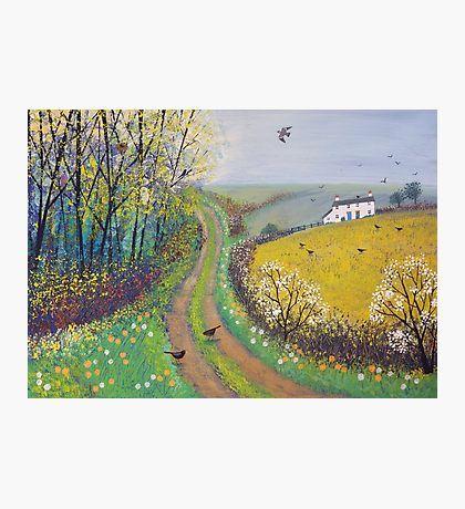 Jo Grundy Wall Art English Countryside Painting Art