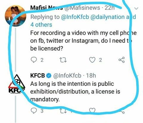 Kenyans Will Soon Need A License To Post Videos Online Update
