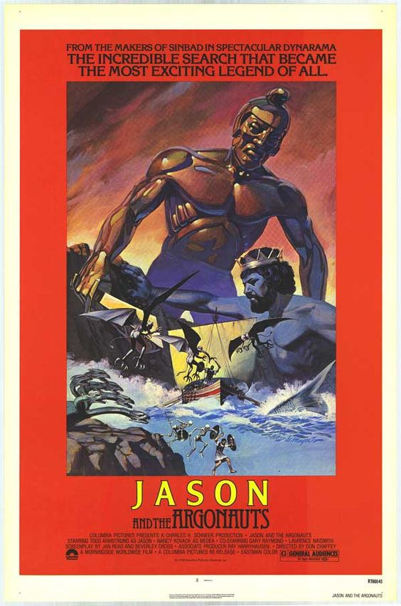 Jason and the Argonauts (1963) G - Chasing down a Golden Fleece before Percy…