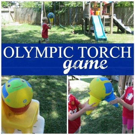 Camp Sunny Patch Session 8 Activity: Olympic Torch Game! #CampSunnyPatch #Olympics #teachmama
