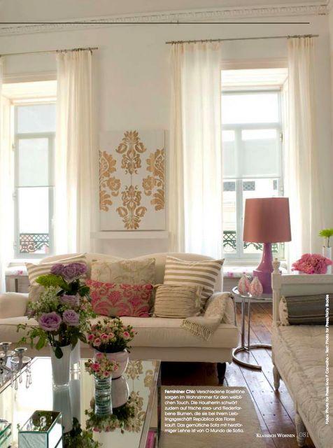 Se eu porventura tivesse ficado com a casa da minha avó... Esta seria a sala. <3 Ana Antunes Home Styling.