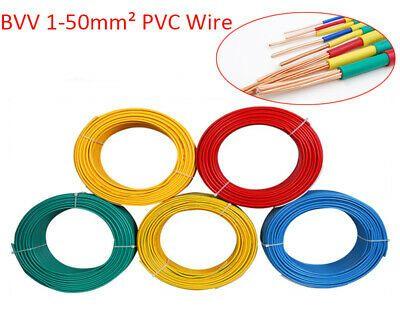 Ad Ebay 5m 1 17awg Single Core Insulated Pvc Copper Cable Multicolor Building Household Pvc Ebay Copper
