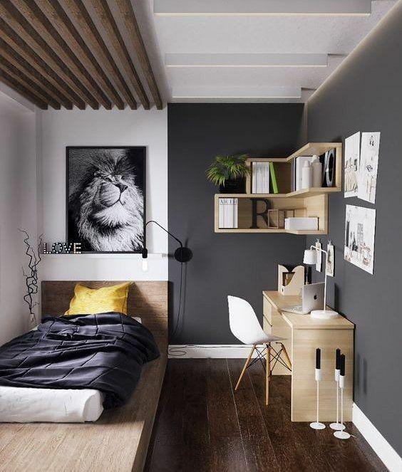 1 010 Curtidas 11 Comentarios Diy Home Diyhomebr No Instagram Super Inspirador Ess Minimalist Bedroom Decor Small Room Design Small Apartment Bedrooms