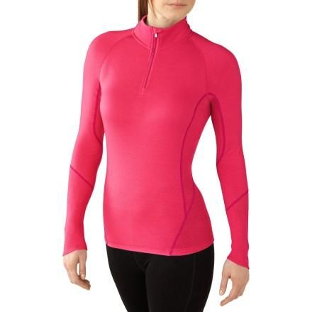 SmartWool NTS Light 195 Zip-T Long Underwear Top.  I want this in Polar Purple.