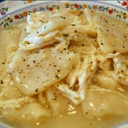 Recipes & Recipes: Cracker Barrel Homemade Chicken and Dumplings