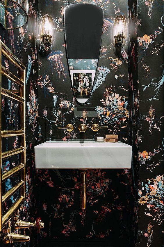 Rockett St George, wallpaper, tropical, Studio Job, wall decoration