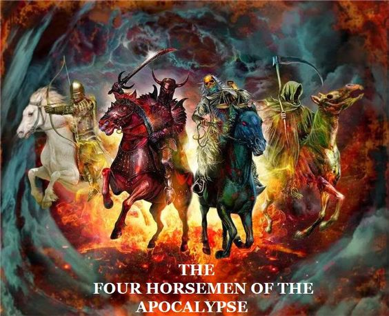 The Four Horsemen of the Apocalypse (The Pale Horse) - Disease Epidemics.