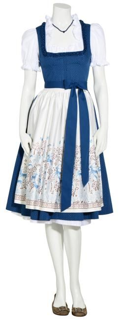 Insa short Dirndl with apron: