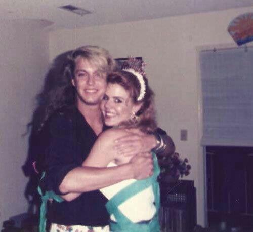 Bret N Old Girlfriend Tracy  Bret Michaels Rocks -5306