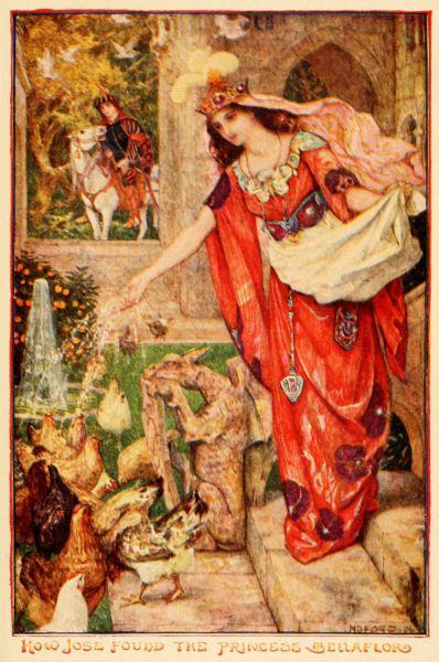 The Orange Fairy Book, 1906 Editor: Andrew Lang Illustrator: H. J. Ford