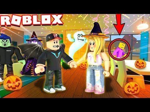 Roblox życie Impreza Halloweenowa Podglądacz Ucieka - roblox bloxburg vito i bella