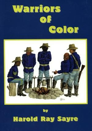"""This text is a compilation of genealogical information regarding 63 African-American """"Buffalo Soldiers"""" enlisted in the U.S. Army.  The entries include biographical notes, timelines, and transcripts of documents related to service in the military and life afterward.  Index starts on page 520."""