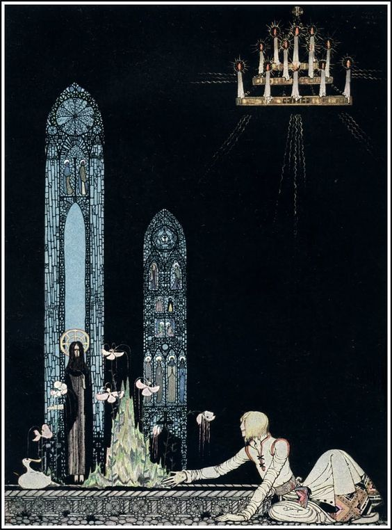 "Kay Nielsen, from ""East of the Sun and West of the Moon"" - a beautiful story…"