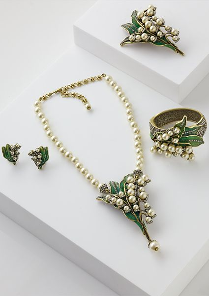 Heidi Daus' Lily of the Valley collection