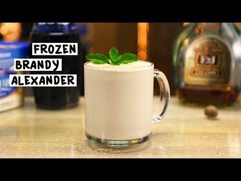Frozen Brandy Alexander 1 1 2 Oz 45ml Creme De Cacao 1 1 2 Oz