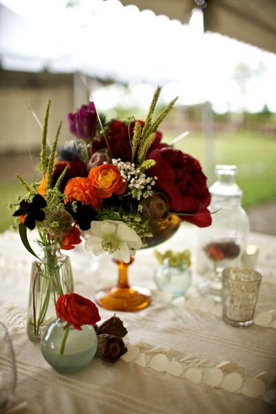 Pinterest the world s catalog of ideas for Summer wedding centerpieces