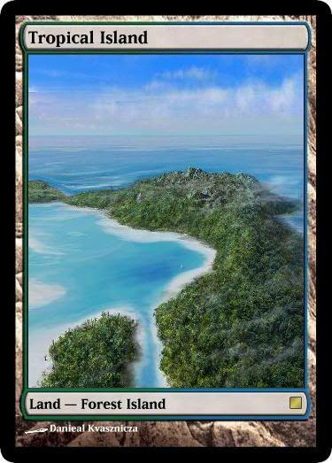 tropical island mtg digital rendering pinterest tropical islands tropical and islands. Black Bedroom Furniture Sets. Home Design Ideas