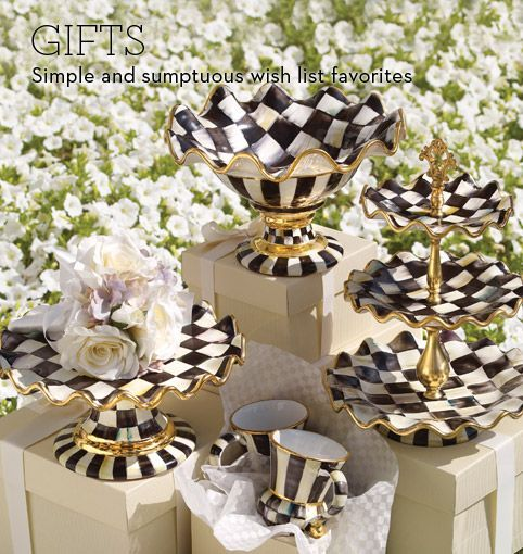 MacKenzie Childs...Yum! | Luxurious Home Accessories | Pinterest ...