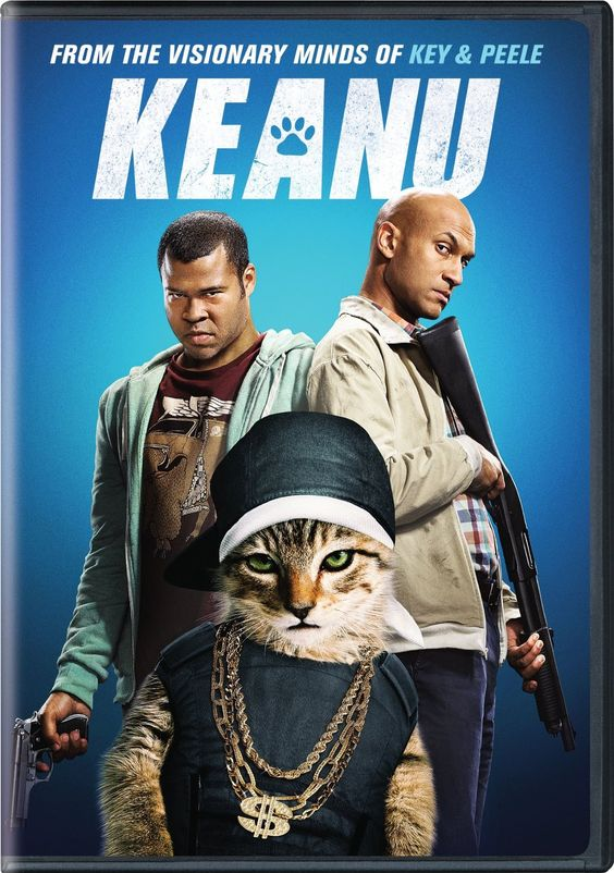 Keanu (2016) ... Recently dumped by his girlfriend, slacker Rell (Jordan Peele) finds some happiness when a cute kitten winds up on his doorstep. After a heartless thief steals the cat, Rell recruits his cousin Clarence (Keegan-Michael Key) to help him retrieve it. They soon learn that a thug named Cheddar (Method Man) has the animal and he'll only give it back if the two men agree to work for him. (18-Sep-2016)