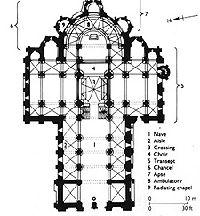 romanesque floor plans and church on pinterest