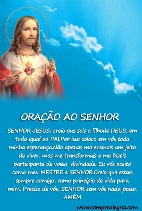 oração ao Senhor